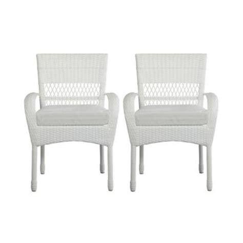 Martha Stewart Patio Chair Cushions by Martha Stewart Living Charlottetown White Patio Dining