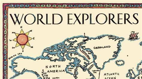 printable map new world explorers world explorers map borders old and new maps for the