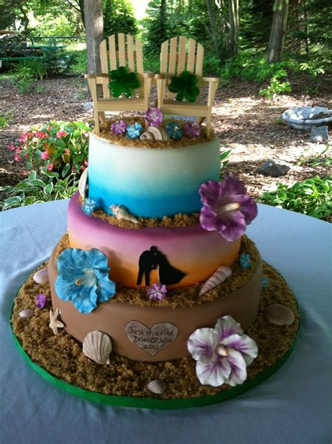 luau wedding cakes pictures tropical and themed wedding cake wedding cakes the o jays wedding and the