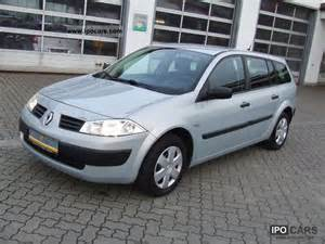 2004 Renault Megane 2004 Renault Megane Authentique 1 5 Dci Grand Tour Car