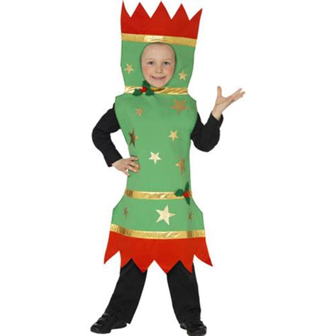 kids novelty festive xmas christmas cracker fancy dress up