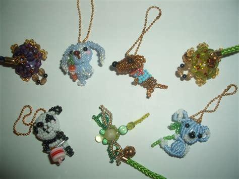 bead animals bead animals 183 a beaded charm 183 beadwork on cut out keep