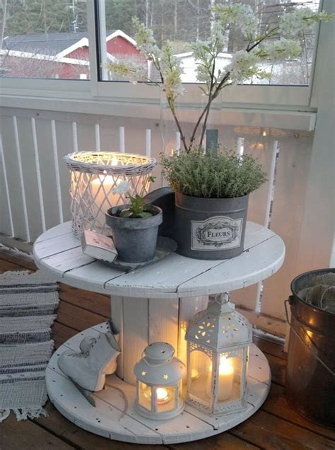 recycle home decor ideas 20 diy porch decorating ideas to make your home more inviting diy porch wood spool and diy