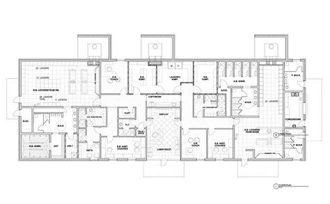 Public Building Floor Plans by Utm Sports