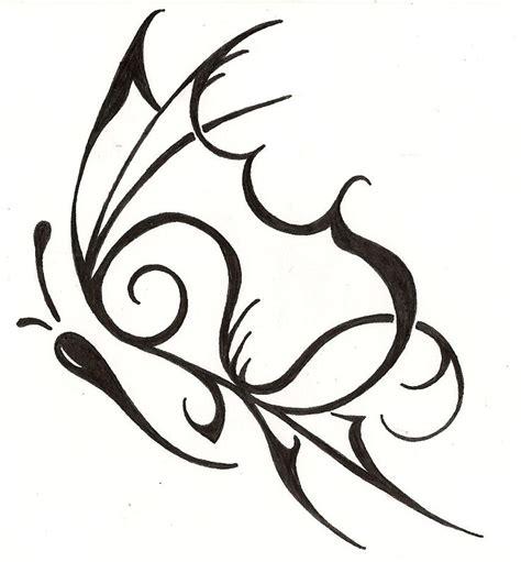 tribal tattoos butterflies tribal butterfly feminine design www silverwingsart