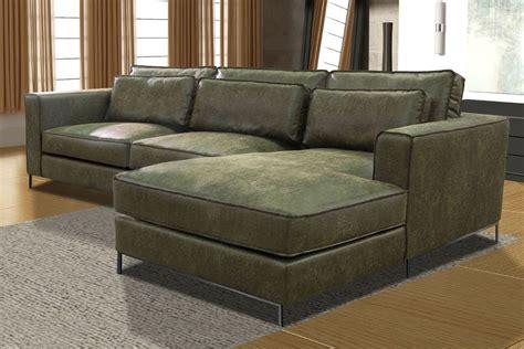 loungebank leder lounge hoekbank iris met voorzetkussens in yacht eco leder