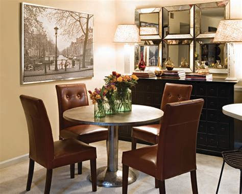 small space living eclectic dining room atlanta