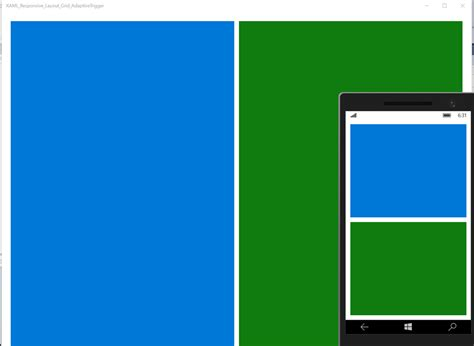 xaml layout basics uwp xaml simple responsive layout using grid and