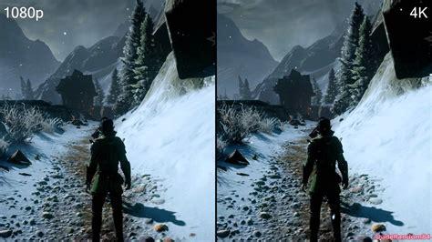 To 4k by Age Inquisition 1080p Vs 4k Dsr Graphics Comparison