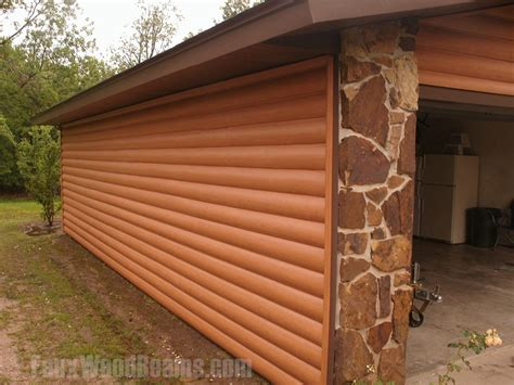 Log Cabin Paneling by Faux Log Siding Ideas Home Improvement Pictures To Inspire