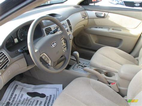 2007 Kia Interior Beige Interior 2007 Kia Optima Lx Photo 39863115