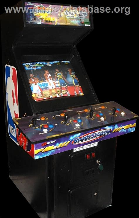 Nfl Blitz Arcade Cabinet by Nba Showtime Nfl Blitz 2000 Arcade Database