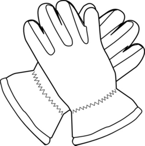 clipart mittens gloves clipground