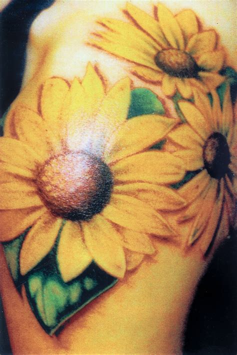 sunflower tribal tattoos three cool sunflower tattoomagz