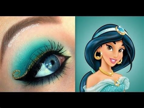 makeup tutorial jasmine princess jasmine makeup tutorial glittergirlc video