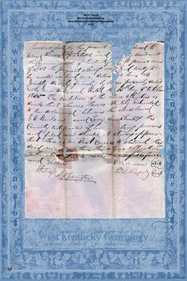 Kent Marriage Records Hickman County Kent 1835 Marriage Record Edward
