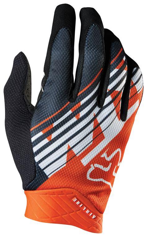 Fox Racing Ktm Fox Racing Airline Ktm Gloves Revzilla