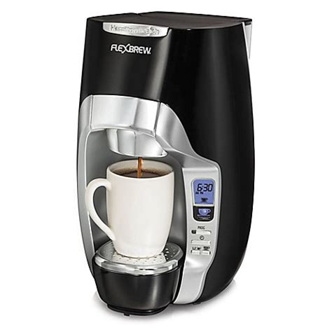 coffee makers at bed bath and beyond hamilton beach 174 flexbrew 174 programmable single serve coffee