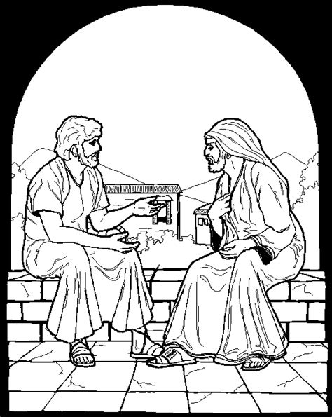 free bible coloring pages nicodemus nicodemus crafts for