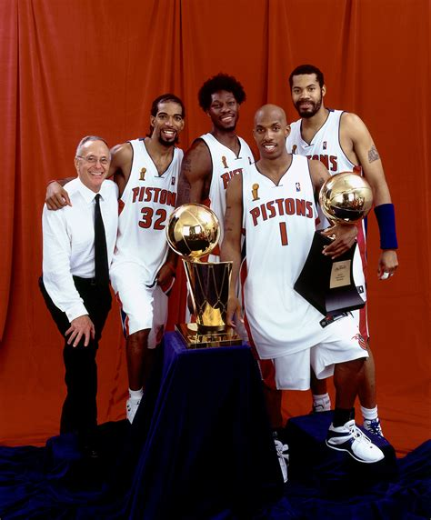 Mba Finals 2004 by Top Moments Pistons Shock Nba World Win Chionship In