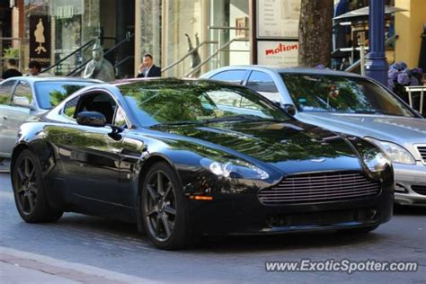 Aston Martin Canada by Aston Martin Vantage Spotted In Toronto Canada On 05 16 2013