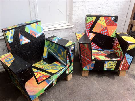 Graffiti Furniture by Graffiti Chair Dambo