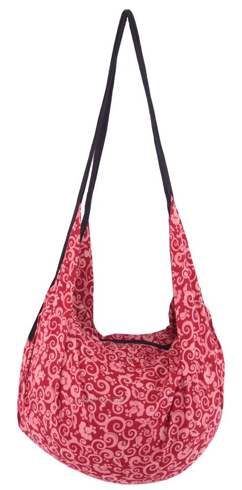 Printed Zip Backpack new boho printed cotton backpack tote bag with zip ebay