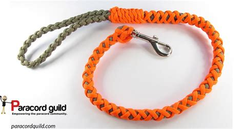 how to leash a puppy how to make a paracord leash paracord guild