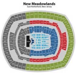 Metlife Stadium Floor Plan by Metlife Stadium New Jersey 120 East Rutherford Nj