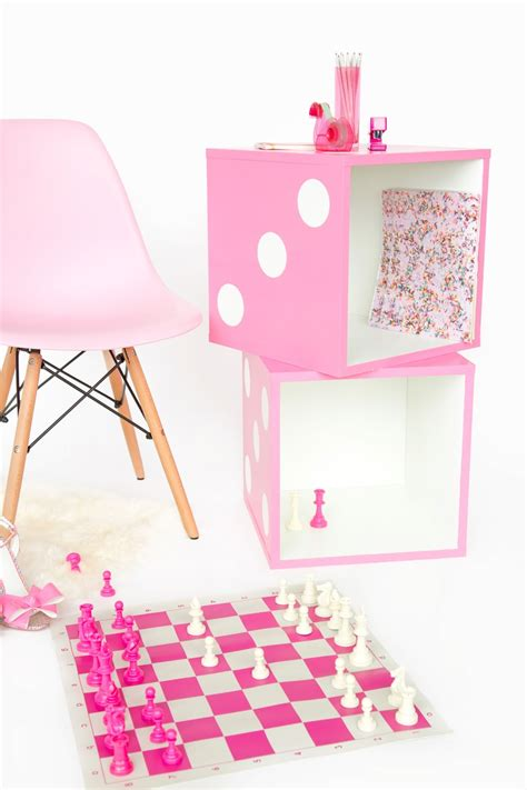 diy ways to level up your small bedroom 15 diy ways to level up your small bedroom 15   diy dice side table