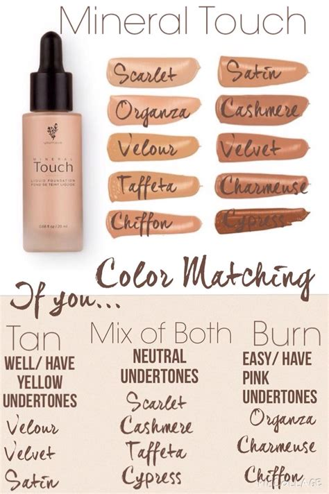 how to foundation color pin by susan thayn on younique younique younique touch
