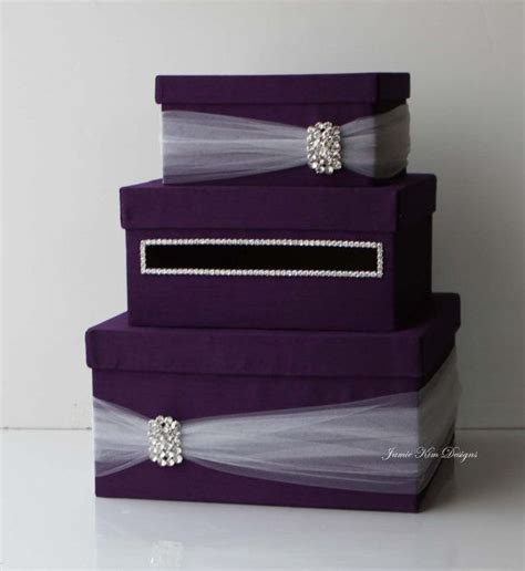 how to make a wedding card box with fabric wedding card box cloveranddot