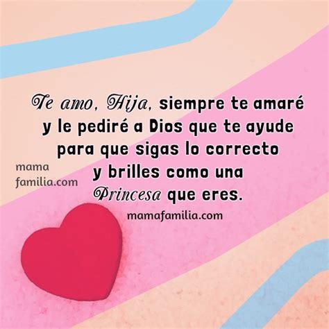 imagenes con frases de amor para mi hija palabras lindas de bendici 243 n para mi hija