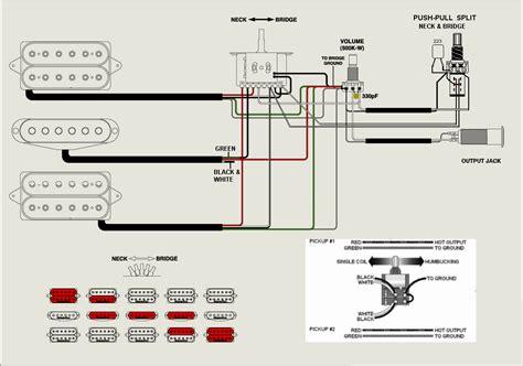 telecaster  humbucker wiring schematic  neck wiring diagram