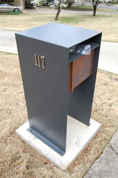 contemporary mailboxes stylish post modern mail box invites more letters in