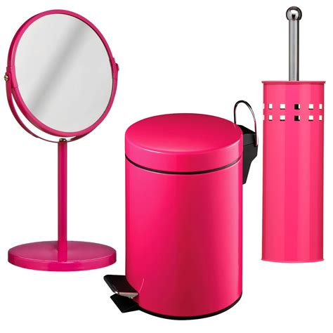 hot pink bathroom sets 3 piece hot pink bathroom set unique home living