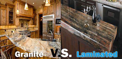 Laminate Vs Granite Countertops five inc countertops the great countertop