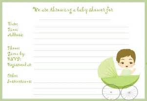 baby shower templates free include a ready to use invite and other templates