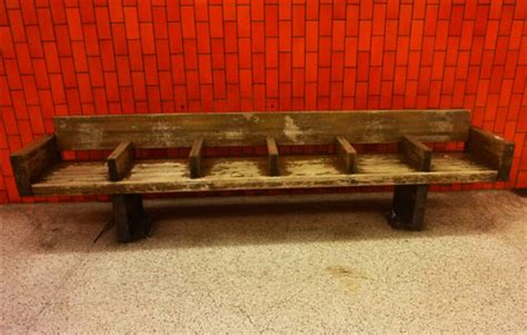 work bench nyc work bench new york mta news authentic wooden subway benches available