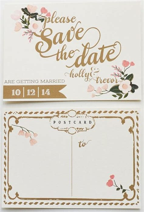 Unique Save The Dates You Re Invited 26 Inventive Save The Date Ideas Brit Co