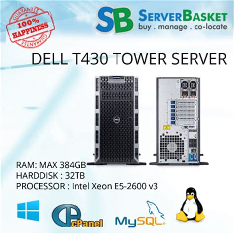 Server Dell Poweredge T430 buy dell poweredge t430 server at low price instant