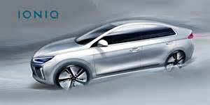 hyundai 2016 ioniq hyundai reveals more of its q car