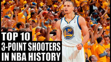 best shooter top 10 3 point shooters in nba history