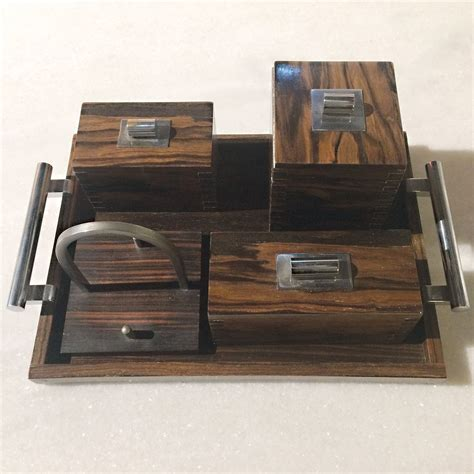 deco desk set vintage deco desk set en vente sur pamono