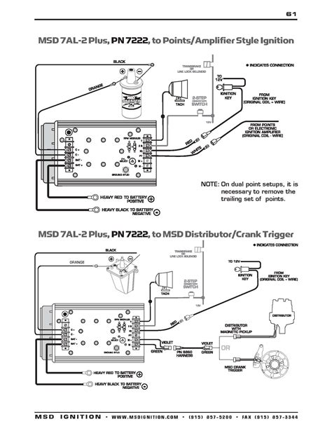 msd 6al tach wire wiring diagrams repair wiring scheme
