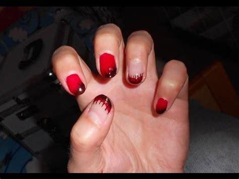 Gel Hq 5 Non Oksidasi nails per unghie corte e lunghe rosso nero con smalti