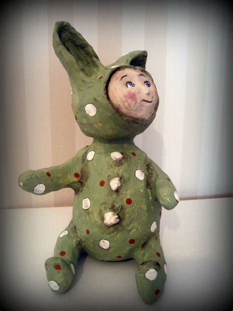 How To Make Paper Mache Dolls - 768 best paper clay and paper mache images on