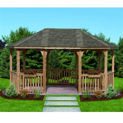 cedar gazebo kits unique royal hardtop gazebo 2 costco cedar gazebo kits
