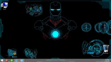 theme windows 8 1 iron man iron man windows 8 and 8 1 theme by abhishekmaurya21 on