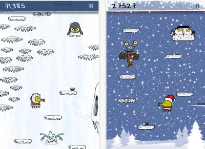 doodle jump blizzard achievement doodle jump articles appadvice iphone news
